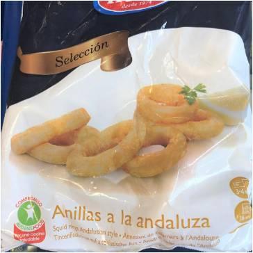 Anillas de Calamar a la Andaluza