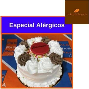Tarta especial Alérgicos