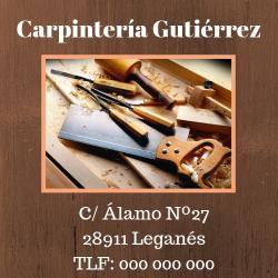 Imagen de Carpintería Gutiérrez - EJEMPLO DE SERVICIO -